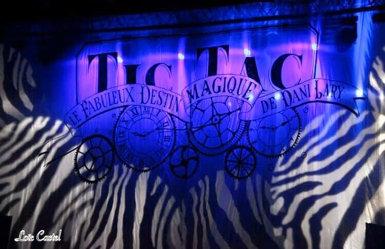 Affiche de «Tic Tac», le prochain spectacle de Dani Lary